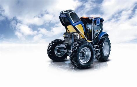 Flash spécial (en exclusivité européenne) - Premier aperçu rapide du tracteur à hydrogène New Holland NH2