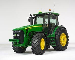 Nouveauté… Tracteurs - John Deere sort les séries 8R et 8RT