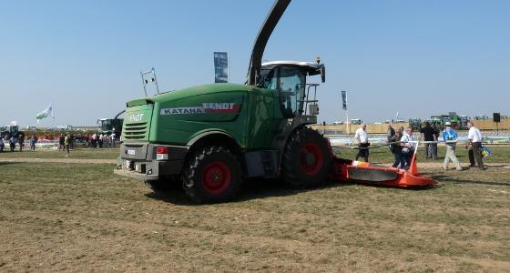 [En direct] Innov-Agri 2012 - Fendt lance la commercialisation de son ensileuse Katana en France