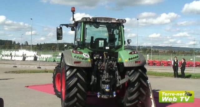 Fendt 500 Vario - Le concept du tracteur universel par Marktoberdorf