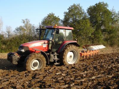 La cote agricole d'occasion tracteur - Case IH MXM 140, un des premier Bus-Can de Case IH