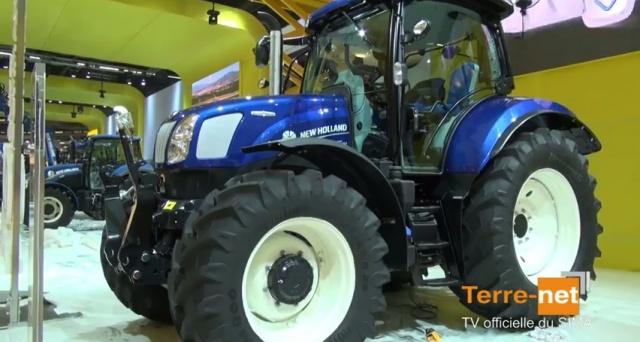 Tracteur à variation continue - T6 Autocommand le haut de gamme de New Holland