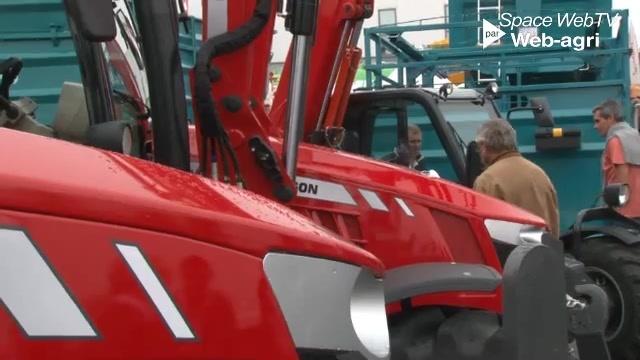 Tracteurs d'élevage - Trois nouvelles versions pour la série 5600 de Massey Ferguson