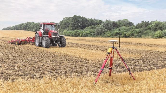 Agriculture de précision - Des nouveaux systèmes de correction chez Case IH