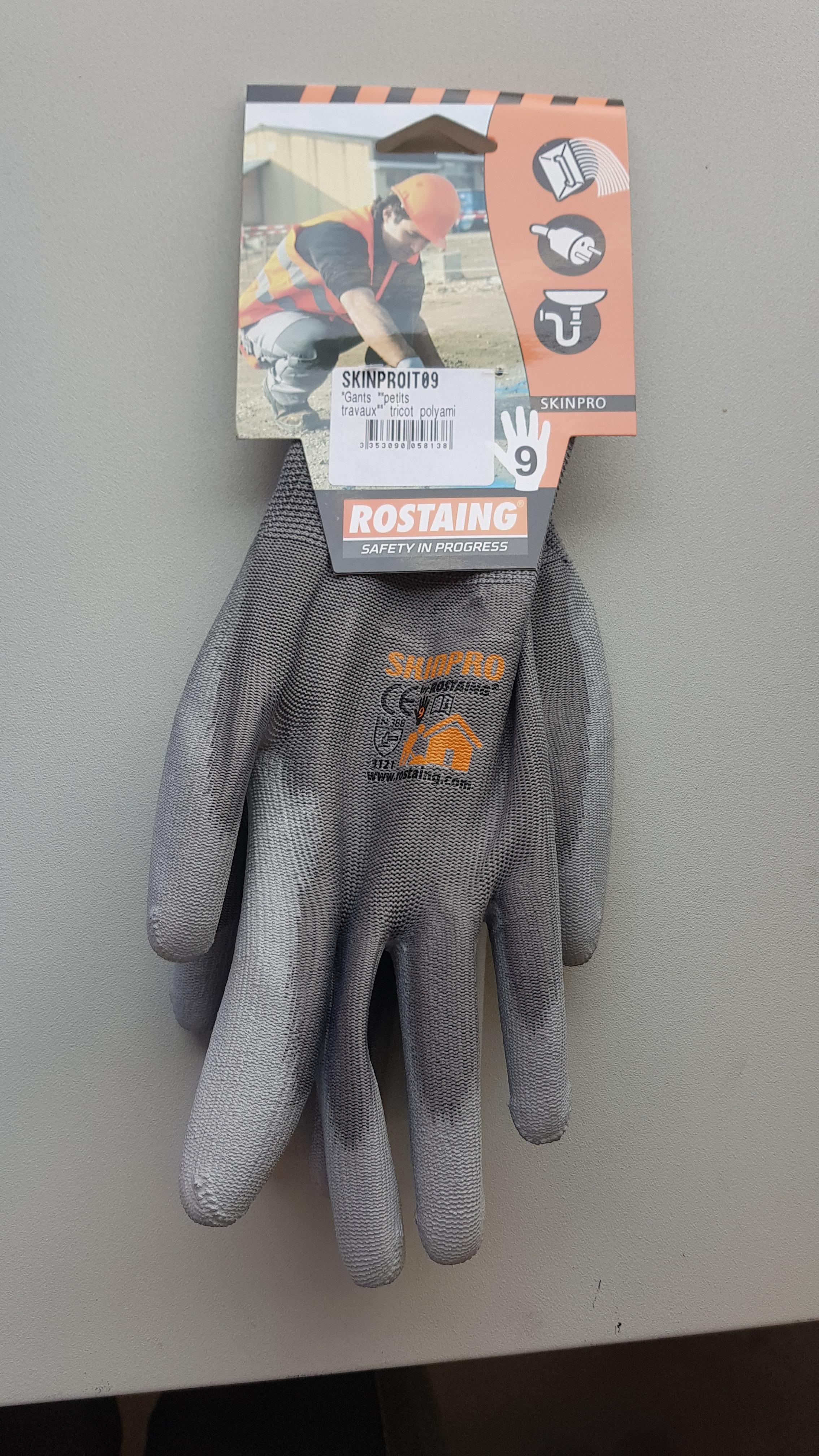 Travailler avec sécurité grâce aux gants ROSTAING