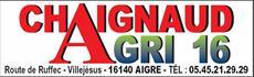 CHAIGNAUD AGRI 16